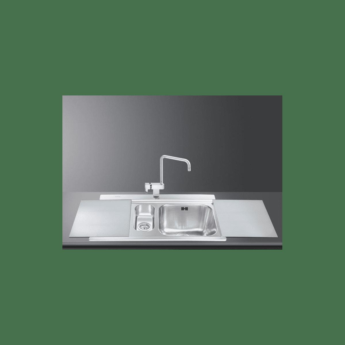 smeg li915sg n eviers direct evier. Black Bedroom Furniture Sets. Home Design Ideas