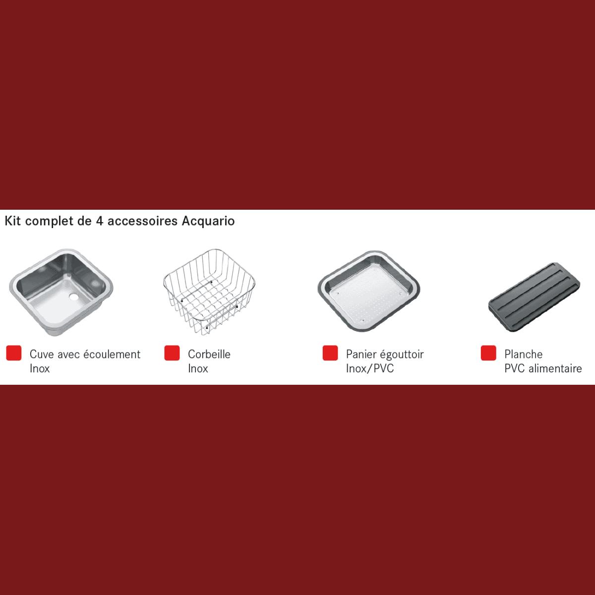 Accessoire evier franke for Accessoires pour cuisine amenagee